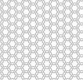 Subtle ornamental background, black & white lattice. Vector monochrome seamless pattern, subtle ornamental background, black & white lattice, thin lines, repeat royalty free illustration