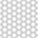 Subtle ornamental background, Vector seamless pattern. Vector monochrome seamless pattern, subtle ornamental background, thin linear figures, repeat geometric stock illustration