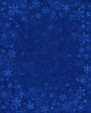 Subtle Snow on Blue Royalty Free Stock Image