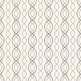 Abstract geometric seamless pattern with curved lines, chains. Subtle vector background. Abstract geometric seamless pattern with thin curved lines, chains stock illustration