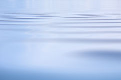Subtle Water Ripples Stock Image