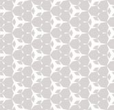 Subtle white and gray vector texture. Repeat abstract background. Subtle white and gray vector texture. Seamless pattern with simple sharped geometric figures Stock Illustration