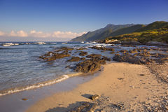Subtropical beach on Yakushima Island, Japan Stock Photos