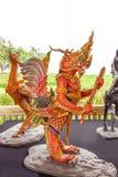 Subun Hayra, creature mitiche della leggenda asiatica a Sanam Luang fotografia stock