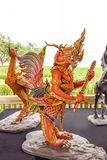 Subun Hayra, Mythische Schepselen van Aziatische legende in Sanam Luang stock fotografie