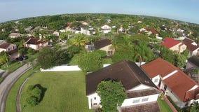 Suburan returnerar i Florida Fotografering för Bildbyråer