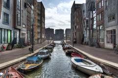 Suburb of Amsterdam Royalty Free Stock Photo