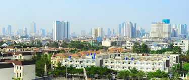 Suburb of Bangkok Royalty Free Stock Photos