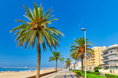 Suburb of Barcelona. Stock Photography