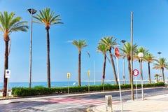 Suburb of Barcelona. Stock Image