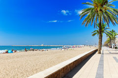 Suburb of Barcelona. Royalty Free Stock Photos