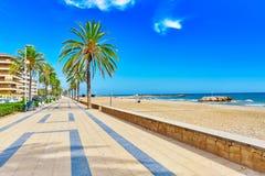 Suburb of Barcelona. Stock Photo