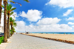 Suburb of Barcelona Royalty Free Stock Images