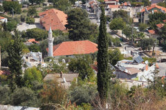 Suburb of country town. Fethiye, Turkey Stock Images