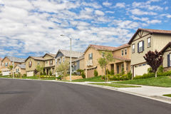 Suburb Homes Royalty Free Stock Photos