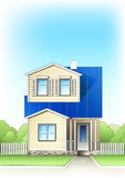 Suburb house Stock Images