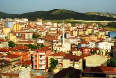 Suburb of Istanbul Stock Photo