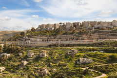 Suburb of Jerusalem Stock Images