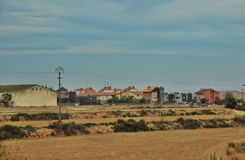 The Suburb Of Olite Royalty Free Stock Image