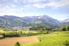 Suburb of Salzburg Stock Photos