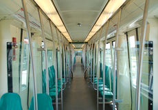 Suburb train interior Stock Photography