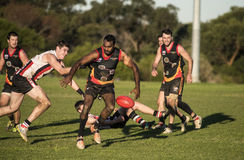 Local Australian Rules Football (AFL) competition Royalty Free Stock Photography