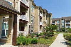 Suburban apartment building Royalty Free Stock Image