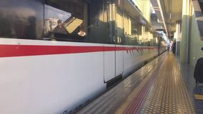 Suburban area train is very popular in Izmir.Public transport in Izmir dates back to 1869 when a con stock video footage