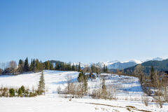 Suburban areas of Zakopane Stock Photography
