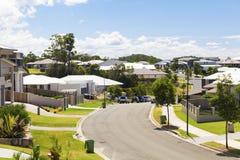 Suburban australian street Stock Photography