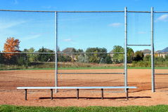 Suburban Baseball Diamond Stock Image