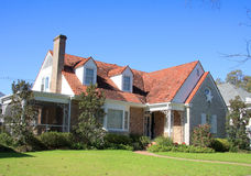 Suburban brick house Stock Photography