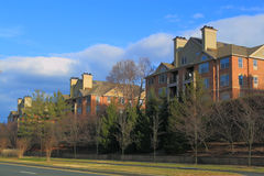 Suburban Condo. In a large planned Community Royalty Free Stock Photo