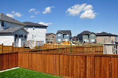 Suburban development Stock Image