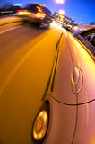 Suburban Driving stock photography