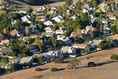 Suburban Edge Stock Photo