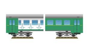 Suburban electric train Stock Photo