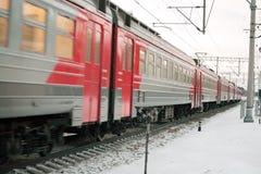 Suburban train Royalty Free Stock Photography