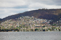 Suburban Hobart Tasmania stock images