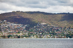 Suburban Hobart Tasmania stock photos