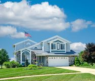 Suburban Home Stock Images