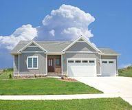 Suburban Home Royalty Free Stock Photo