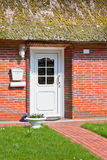 Suburban home front porch Royalty Free Stock Photos