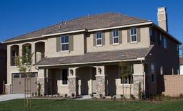 Suburban Homes Royalty Free Stock Photography