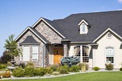 Suburban house Stock Images