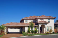 Suburban house royalty free stock images