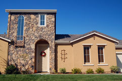 Suburban house stock photos