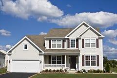 Suburban house royalty free stock photography