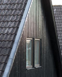 Suburban house - Facade. Suburban houses in Scandinavian, kidfriendly Stock Photography