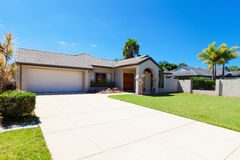 Free Suburban House Front Stock Photos - 77910983
